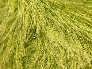 Fiber Content 100% Polyester, Light Green, Brand ICE, Yarn Thickness 5 Bulky  Chunky, Craft, Rug, fnt2-22783