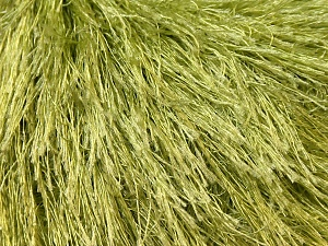 Fiber Content 100% Polyester, Brand ICE, Green, Yarn Thickness 5 Bulky  Chunky, Craft, Rug, fnt2-22784