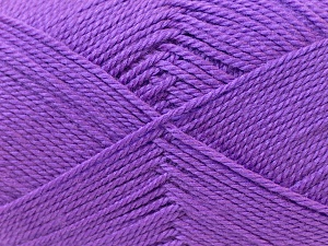 Fiber Content 100% Acrylic, Lavender, Brand ICE, Yarn Thickness 2 Fine  Sport, Baby, fnt2-23595