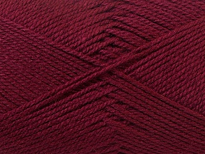 Fiber Content 100% Acrylic, Brand ICE, Burgundy, Yarn Thickness 2 Fine  Sport, Baby, fnt2-23598