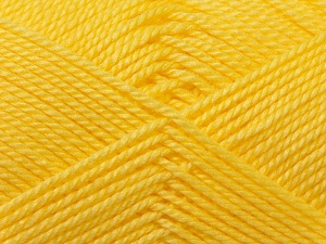 Fiber Content 100% Acrylic, Light Yellow, Brand ICE, Yarn Thickness 2 Fine  Sport, Baby, fnt2-23599