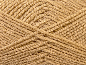 Worsted  Fiber Content 100% Acrylic, Brand Ice Yarns, Camel, Yarn Thickness 4 Medium  Worsted, Afghan, Aran, fnt2-23723
