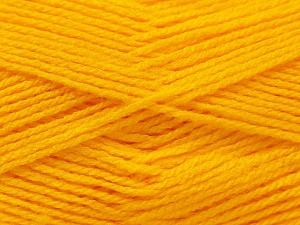 Fiber Content 100% Baby Acrylic, Yellow, Brand ICE, Yarn Thickness 2 Fine  Sport, Baby, fnt2-23773