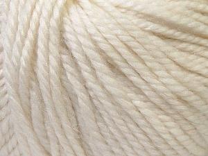 Fiber Content 40% Acrylic, 35% Wool, 25% Alpaca, White, Brand ICE, Yarn Thickness 5 Bulky  Chunky, Craft, Rug, fnt2-25393