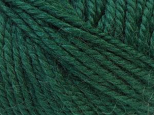 Fiber Content 40% Acrylic, 35% Wool, 25% Alpaca, Brand ICE, Dark Teal, Yarn Thickness 5 Bulky  Chunky, Craft, Rug, fnt2-25402