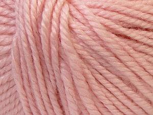 Fiber Content 40% Acrylic, 35% Wool, 25% Alpaca, Light Pink, Brand ICE, Yarn Thickness 5 Bulky  Chunky, Craft, Rug, fnt2-25408