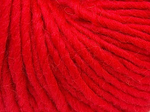 Fiber Content 100% Wool, Red, Brand ICE, Yarn Thickness 5 Bulky  Chunky, Craft, Rug, fnt2-26001