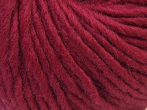 Fiber Content 100% Wool, Brand ICE, Burgundy, Yarn Thickness 5 Bulky  Chunky, Craft, Rug, fnt2-26002