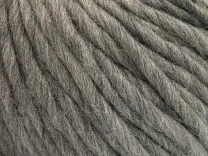Fiber Content 100% Australian Wool, Light Grey, Brand Ice Yarns, Yarn Thickness 6 SuperBulky  Bulky, Roving, fnt2-26150