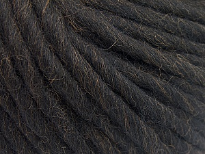 Fiber Content 100% Australian Wool, Brand ICE, Coffee Brown, Yarn Thickness 6 SuperBulky  Bulky, Roving, fnt2-26157