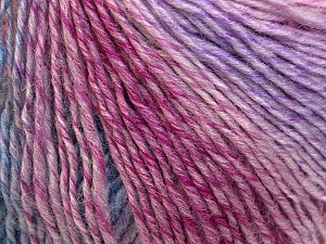 Fiber Content 50% Wool, 50% Acrylic, Pink, Lilac, Brand ICE, Blue, Yarn Thickness 3 Light  DK, Light, Worsted, fnt2-27155