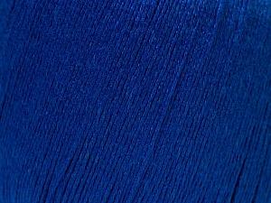 Fiber Content 50% Linen, 50% Viscose, Brand ICE, Bright Blue, Yarn Thickness 2 Fine  Sport, Baby, fnt2-27267
