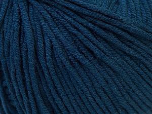 Fiber Content 50% Acrylic, 50% Cotton, Navy, Brand ICE, Yarn Thickness 3 Light  DK, Light, Worsted, fnt2-27368
