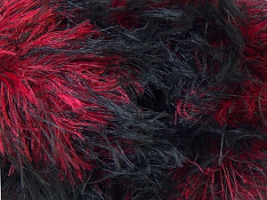 Fiber Content 100% Polyamide, Red, Brand ICE, Black, Yarn Thickness 5 Bulky  Chunky, Craft, Rug, fnt2-30841