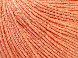 Fiber Content 60% Cotton, 40% Acrylic, Light Salmon, Brand ICE, Yarn Thickness 2 Fine  Sport, Baby, fnt2-32823