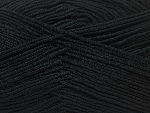 Fiber Content 100% Antibacterial Dralon, Brand ICE, Black, Yarn Thickness 2 Fine  Sport, Baby, fnt2-32827