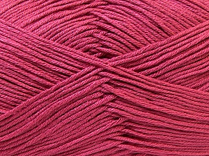 Fiber Content 100% Antibacterial Dralon, Brand ICE, Dark Pink, Yarn Thickness 2 Fine  Sport, Baby, fnt2-32835
