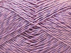 Fiber Content 50% Cotton, 50% Polyester, Light Lilac, Brand ICE, Yarn Thickness 2 Fine  Sport, Baby, fnt2-33065