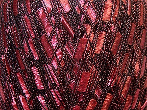 Trellis  Fiber Content 100% Polyester, Rose Pink, Brand Ice Yarns, Black, Yarn Thickness 5 Bulky  Chunky, Craft, Rug, fnt2-34023