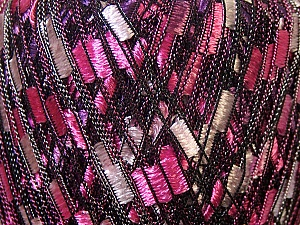 Trellis  Fiber Content 100% Polyester, White, Pink, Lilac, Brand ICE, Yarn Thickness 5 Bulky  Chunky, Craft, Rug, fnt2-34026