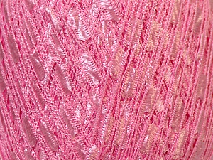 Trellis  Fiber Content 100% Polyester, Brand ICE, Baby Pink, Yarn Thickness 5 Bulky  Chunky, Craft, Rug, fnt2-34120