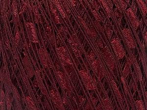 Trellis  Fiber Content 100% Polyester, Brand ICE, Dark Burgundy, Yarn Thickness 5 Bulky  Chunky, Craft, Rug, fnt2-34121