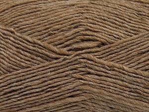 Fiber Content 50% Wool, 50% Acrylic, Brand ICE, Camel, Yarn Thickness 3 Light  DK, Light, Worsted, fnt2-35024