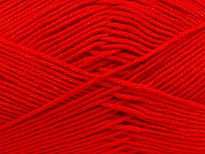 Fiber Content 100% Antibacterial Dralon, Red, Brand ICE, Yarn Thickness 2 Fine  Sport, Baby, fnt2-35243