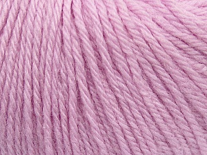 Fiber Content 100% Wool, Light Lilac, Brand ICE, Yarn Thickness 4 Medium  Worsted, Afghan, Aran, fnt2-38009