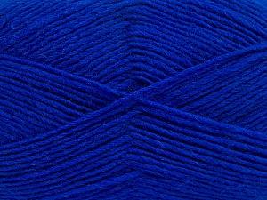 Fiber Content 50% Acrylic, 50% Wool, Brand ICE, Blue, Yarn Thickness 3 Light  DK, Light, Worsted, fnt2-40809