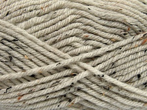 Fiber Content 72% Acrylic, 3% Viscose, 25% Wool, Brand ICE, Beige, Yarn Thickness 6 SuperBulky  Bulky, Roving, fnt2-40835