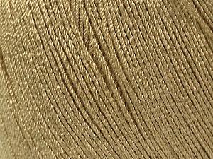 Fiber Content 100% Bamboo, Brand ICE, Beige, Yarn Thickness 2 Fine  Sport, Baby, fnt2-41456
