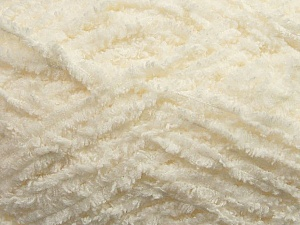 Fiber Content 100% Micro Fiber, Brand ICE, Cream, Yarn Thickness 5 Bulky  Chunky, Craft, Rug, fnt2-41760