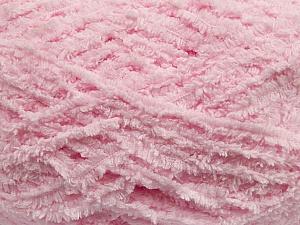 Fiber Content 100% Micro Fiber, Light Pink, Brand ICE, Yarn Thickness 5 Bulky  Chunky, Craft, Rug, fnt2-41767