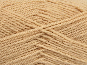 Fiber Content 50% Acrylic, 30% Wool, 20% Polyamide, Latte, Brand ICE, Yarn Thickness 2 Fine  Sport, Baby, fnt2-42412