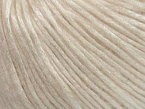 Fiber Content 50% Polyamide, 50% Acrylic, Brand ICE, Cream, Yarn Thickness 4 Medium  Worsted, Afghan, Aran, fnt2-42744