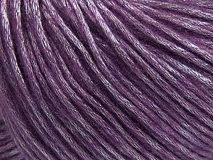 Fiber Content 50% Polyamide, 50% Acrylic, Lavender, Brand ICE, Yarn Thickness 4 Medium  Worsted, Afghan, Aran, fnt2-42751
