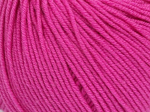 SUPERWASH MERINO EXTRAFINE is a DK weight, 100% extra fine Italian-style superwash merino wool making it extremely soft, as well as durable.  High twist and smooth texture gives unbelievable stitch definition making this a good choice for any project that you want to show off your stitch work. Projects knit and crocheted in SUPERWASH MERINO EXTRAFINE are machine washable! Lay flat to dry. Do not bleach. Do not iron Fiber Content 100% Superwash Extrafine Merino Wool, Pink, Brand ICE, Yarn Thickness 3 Light  DK, Light, Worsted, fnt2-42805