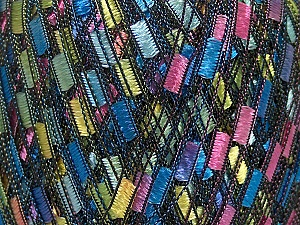Trellis  Fiber Content 100% Polyester, Yellow, Pink, Mint Green, Brand Ice Yarns, Blue, Yarn Thickness 5 Bulky  Chunky, Craft, Rug, fnt2-42956