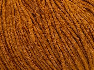 Fiber Content 50% Cotton, 50% Acrylic, Brand ICE, Dark Gold, Yarn Thickness 3 Light  DK, Light, Worsted, fnt2-44118