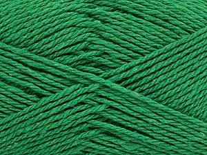 Fiber Content 100% Cotton, Brand ICE, Green, Yarn Thickness 3 Light  DK, Light, Worsted, fnt2-44317