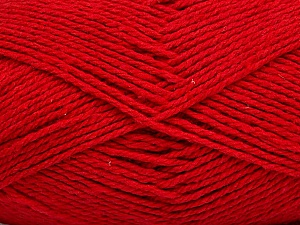 Fiber Content 100% Cotton, Red, Brand ICE, Yarn Thickness 3 Light  DK, Light, Worsted, fnt2-44320