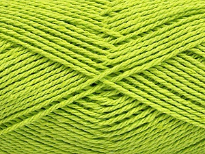 Fiber Content 100% Cotton, Light Green, Brand ICE, Yarn Thickness 3 Light  DK, Light, Worsted, fnt2-44327