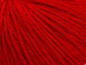 Fiber Content 40% Merino Wool, 40% Acrylic, 20% Polyamide, Red, Brand ICE, Yarn Thickness 3 Light  DK, Light, Worsted, fnt2-45810