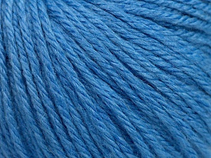 Fiber Content 40% Merino Wool, 40% Acrylic, 20% Polyamide, Light Blue, Brand ICE, Yarn Thickness 3 Light  DK, Light, Worsted, fnt2-45823