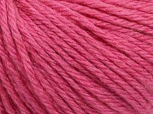 Fiber Content 40% Merino Wool, 40% Acrylic, 20% Polyamide, Rose Pink, Brand ICE, Yarn Thickness 3 Light  DK, Light, Worsted, fnt2-45826