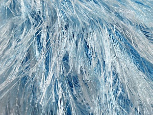 Fiber Content 100% Polyester, White, Brand Ice Yarns, Blue, fnt2-46091