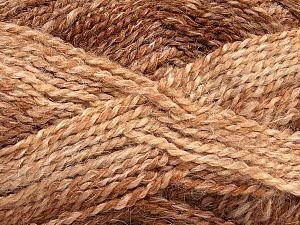Fiber Content 55% Acrylic, 25% Mohair, 20% Alpaca, Brand Ice Yarns, Brown Shades, Yarn Thickness 4 Medium  Worsted, Afghan, Aran, fnt2-46207