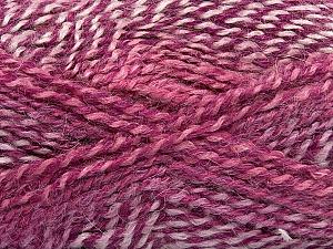 Fiber Content 55% Acrylic, 25% Mohair, 20% Alpaca, Purple Shades, Pink, Orchid, Lilac, Brand Ice Yarns, Yarn Thickness 4 Medium  Worsted, Afghan, Aran, fnt2-46211