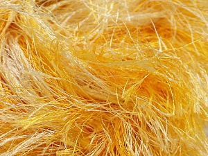 Fiber Content 100% Polyester, Yellow, White, Brand Ice Yarns, fnt2-46452